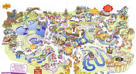 parc asterix  park map