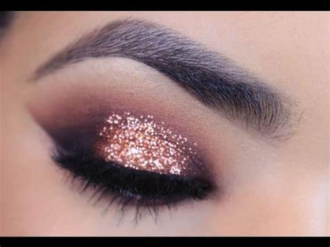 adorable rose gold eyeshadows    rose gold eye makeup rose gold wedding makeup