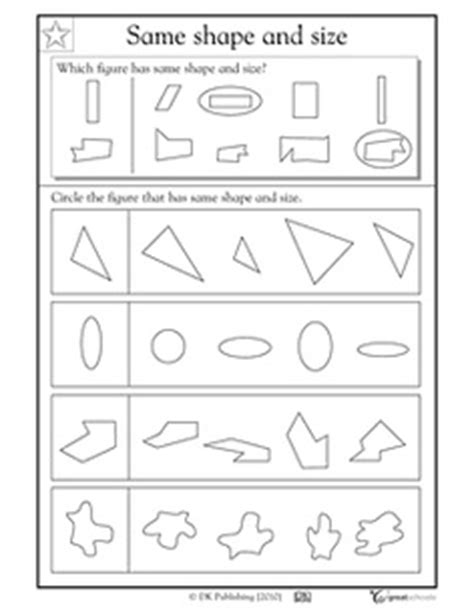 13 Best Images Of Congruent Shapes Worksheets 3rd Grade  Congruent Shapes Worksheets 1st Grade