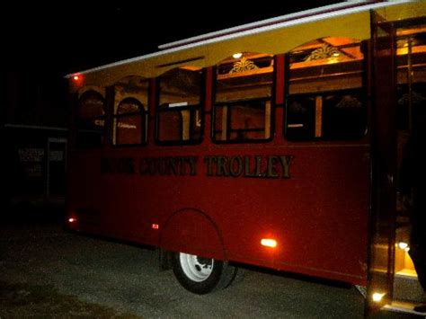 door county trolley haunted eagle bluff lighthouse picture of door county
