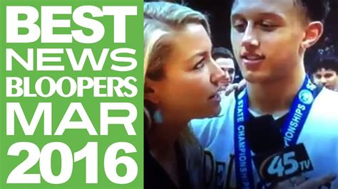 Some Of The Best News Bloopers From March 2016