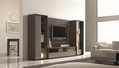 design wall unit cabinets ultra contemporary lacquered wall unit with display