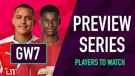 Gameweek 7 Preview | PLAYERS TO WATCH | Fantasy Premier ...