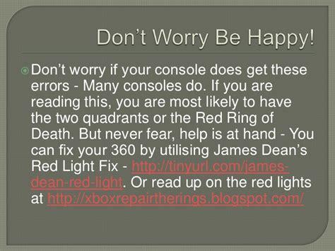 xbox 360 red light bottom right