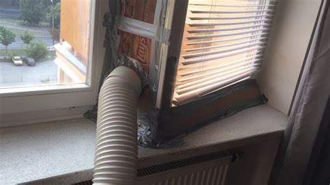polish air conditioning project duct tape  cardboard miracles summer  youtube
