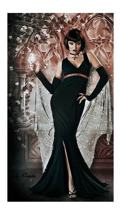 Gothic Witch Gifs Formal Dark Witches Dresses