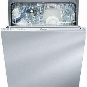Taille Standard Lave Vaisselle : lave vaisselle int grable indesit standard 60cm couleur blanche dif 14b1 eu ~ Melissatoandfro.com Idées de Décoration