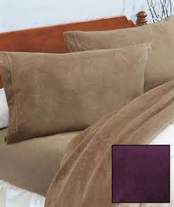 ultra soft plush microfleece bedding sheet set for cozy nights 4 colors 4 sizes ebay
