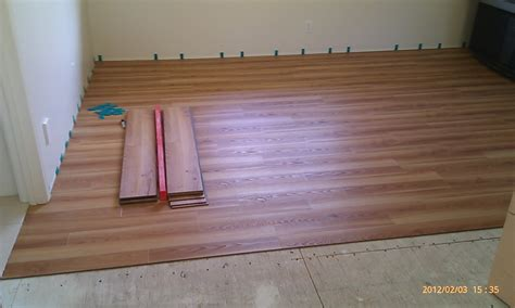 floating vinyl plank flooring installation for