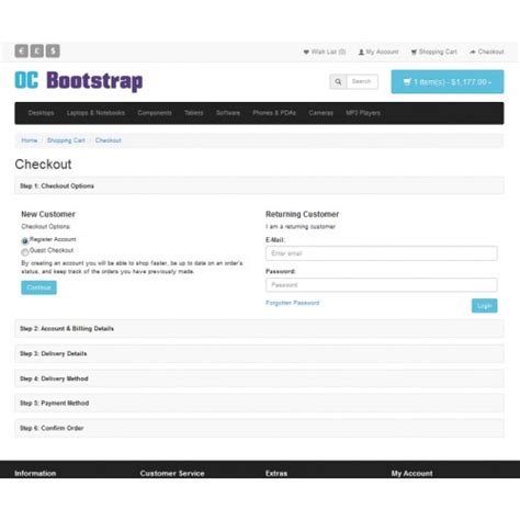 Bootstrap 3 Theme With Options