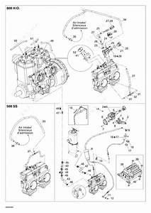 Ski Doo 2006 Gsx - 500ss  Engine 500  2