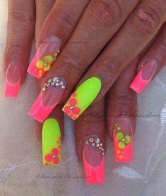 1000 ideas about Neon Nails on Pinterest