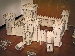 Andrea Garuti's laser-cut 3D models create a medieval