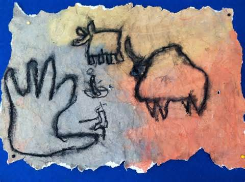 Cave Lascaux Art Project for Kids