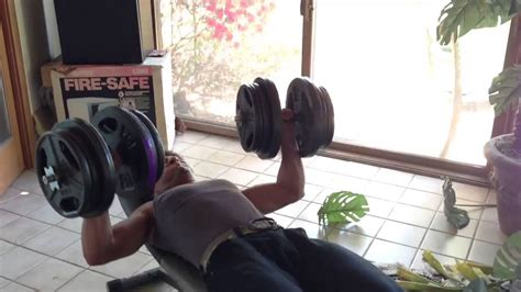 90 Pound Dumbbell Bench Press by 90 Pound Dumbbell Benchpress Total 180