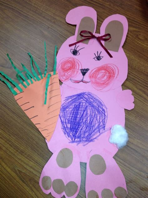 200 best easter preschool crafts for images on 347 | ed9364640ba7c21b1c0bb568c2788912 rabbit crafts bunny crafts