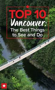 Vacation Travel Itinerary Template The Top 10 Attractions In Vancouver Nature Discount