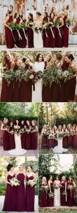 fall wedding colors best 25 burgundy wedding ideas on burgundy wedding colors fall wedding colors and