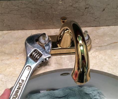 fix  leaking bathroom faucet quit  drip