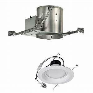 Watt dimmable led inch recessed lighting kit for new