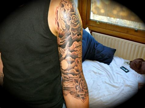 Religious Tattoo Ideas For Men Half Sleeve Drawings
