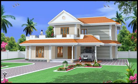 Green Homes Construction Indian Style Duplex House2600