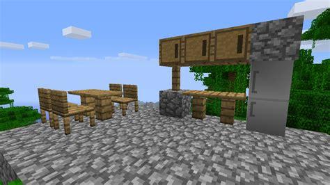 cuisine minecraft maison moderne dansminecraft
