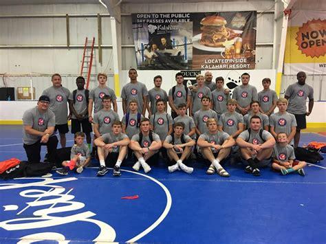 jhs wrestling team dominates  world wrestling camps