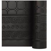 Nappe Noire Papier : nappe papier damass noire x 25m ~ Teatrodelosmanantiales.com Idées de Décoration