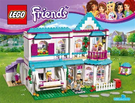 Bauanleitungen Lego  Friends  41314  Stephanies Haus