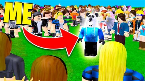 What It's Like To Be Famous In Roblox Youtube