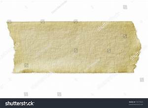 Torn Piece Masking Tape Clipping Path Stock Photo 16577623 ...