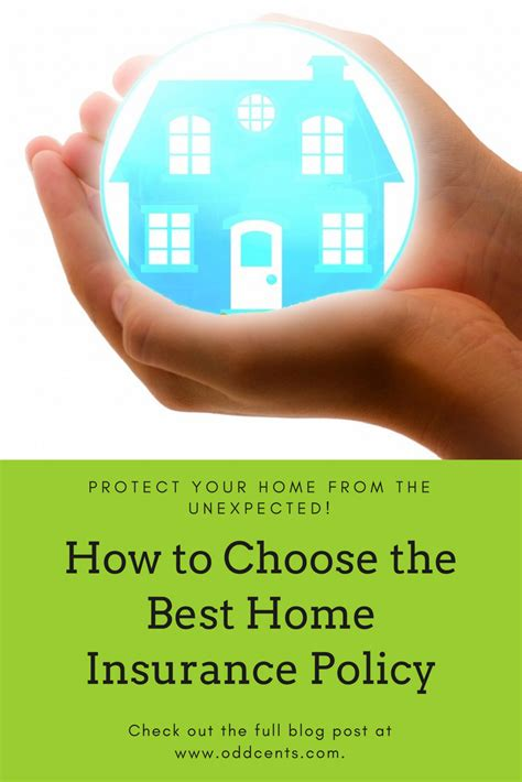 Choosing the best home insurance company can be complicated and it's hard to know where to start with hundreds of companies and policies to choose from. How to Choose the Best Home Insurance Policy   Odd Cents #oddcents #personalfinance # ...