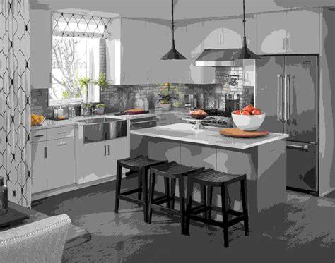 petit ilot central cuisine cuisine ilot centrale cuisine avec ilot central with cuisine ilot centrale gallery of cuisine