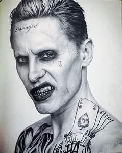 Suicide Squad images Black and White Portrait - The Joker ...