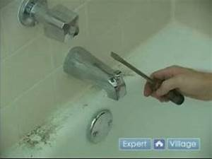 How to fix a leaky bathtub faucet removing the spout for How to fix a dripping faucet in bathroom