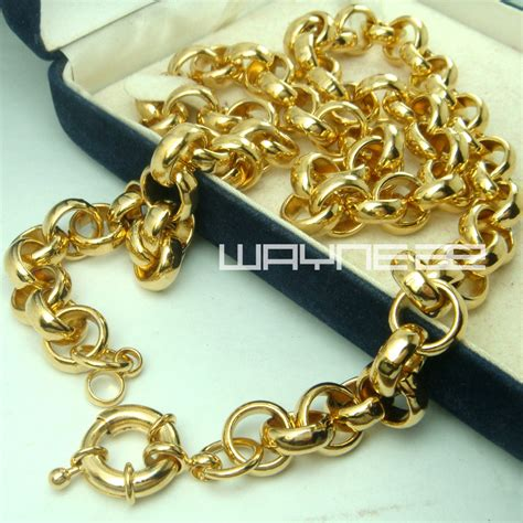 new arrival fashion 24k gp gold plated mens gold chain designs for best chain 2018