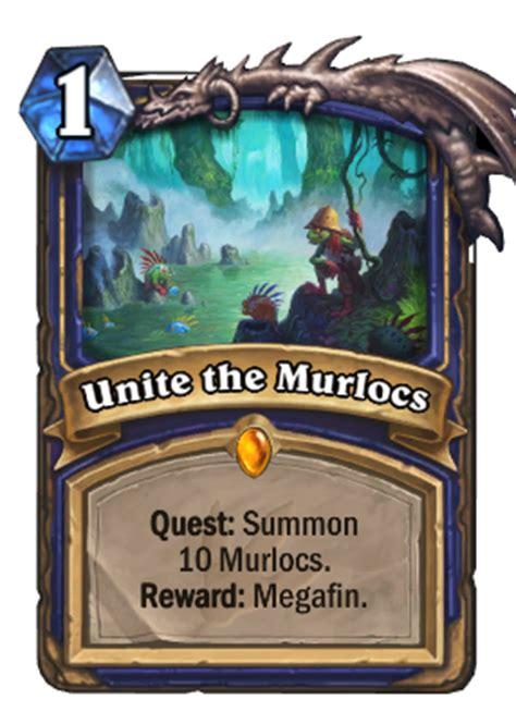 murloc shaman deck no quest look a journey to un goro crater gamer sensei