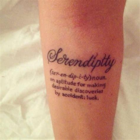 serendipity tattoo buscar  google