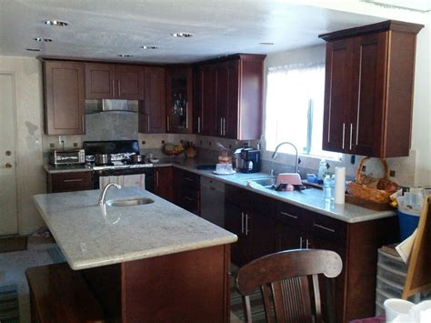 clean looking espresso shaker kitchen cabinets with