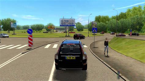 City Car Driving 1.2.5 Volvo Xc90 Logitech G 27 Trackir