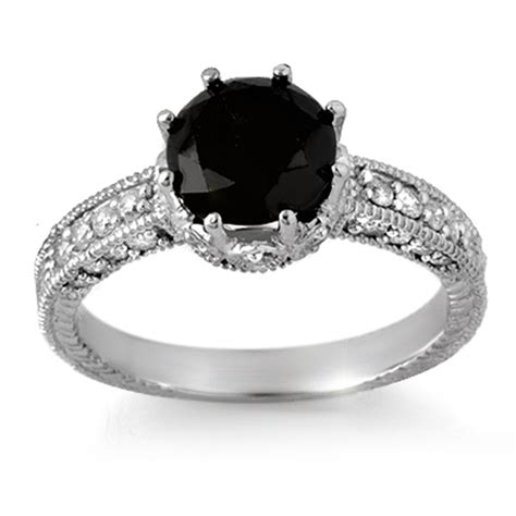 black wedding rings with diamonds pink rings artificially colored