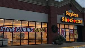 Payless, Shoesource, Stores, Closing, Liquidation, Sales, Start, Sunday