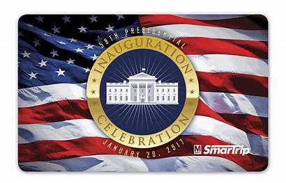 Inauguration Trump Metro Smartrip Card Donald Wmata