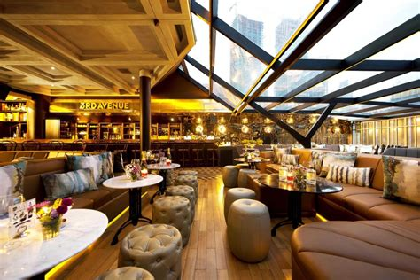 Bar And Bar by A Whiskey Bar With Skyline Views Of Jakarta