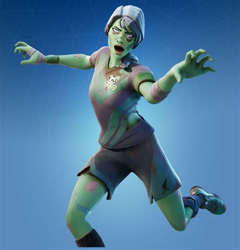 fortnite playmaker putrid skin halloween wallpapers zombie soccer fortnitemares dead ball rare outfit