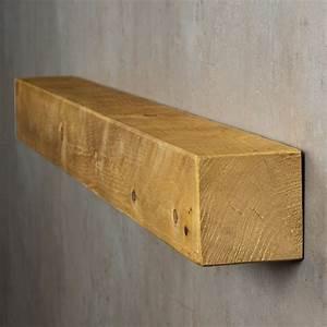 Wandboard Eiche Massiv : levandeo wandregal holz massiv 100x10cm eiche farbig wandboard regal vintage levandeo ~ Orissabook.com Haus und Dekorationen