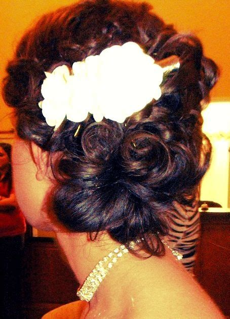 hair styles for indian weddings best 25 curly side buns ideas on easy side 6531
