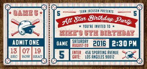awesome psd ticket invitation design templates bashooka