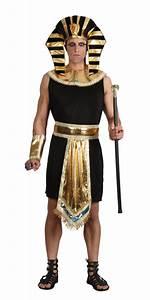 Mens Ancient Egyptian King Pharaoh Fancy Dress Costume